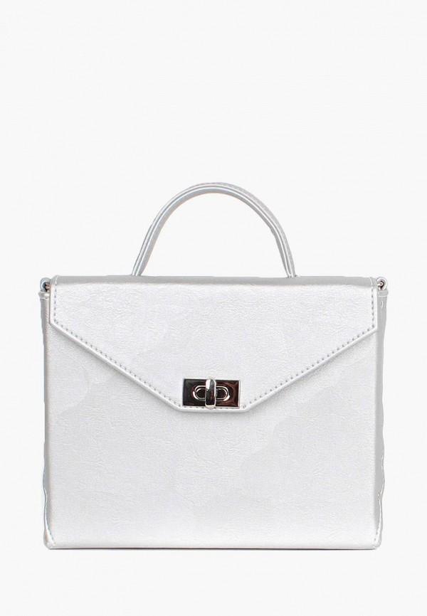 женская сумка arny praht, серебряная