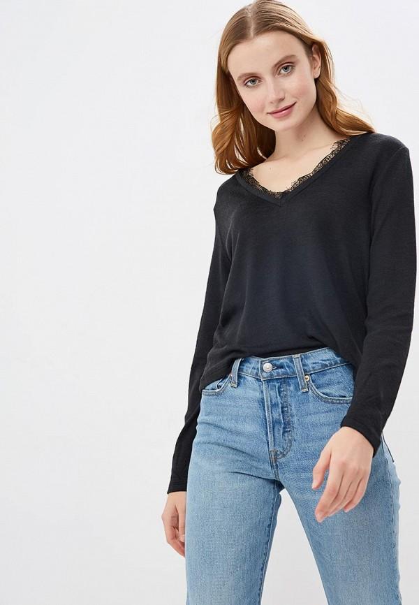 женский пуловер befree, черный