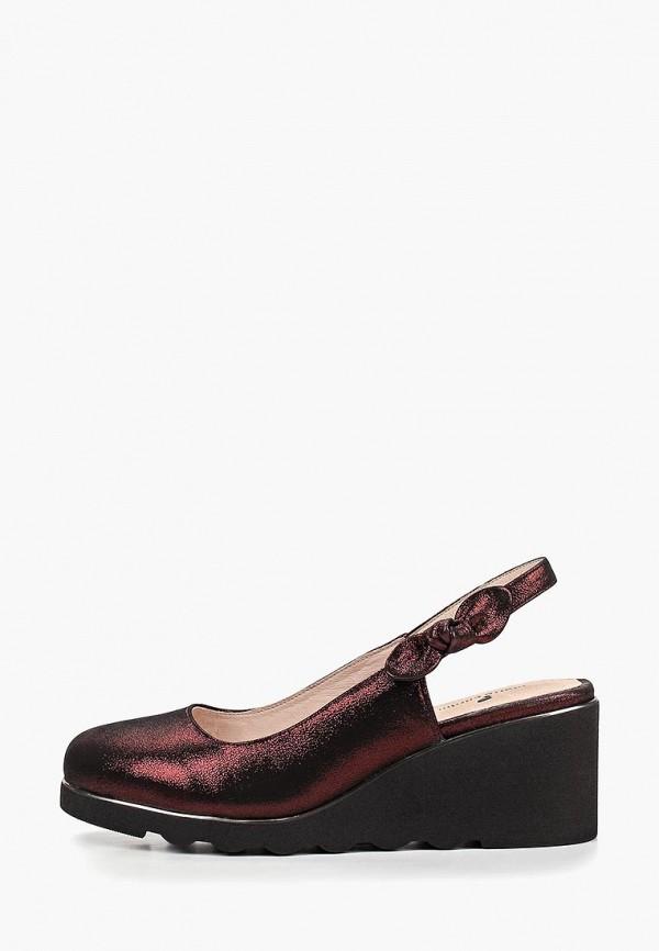 женские туфли pierre cardin, бордовые