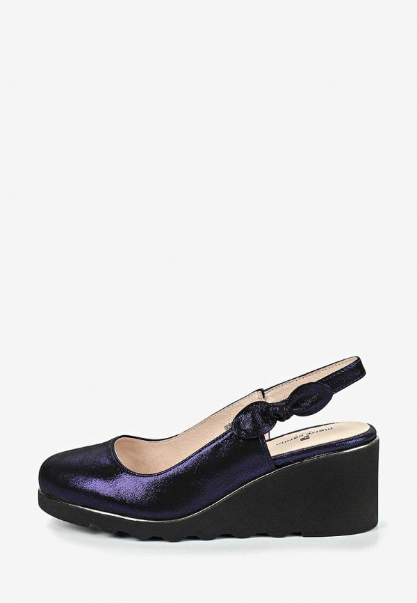 женские туфли pierre cardin, синие