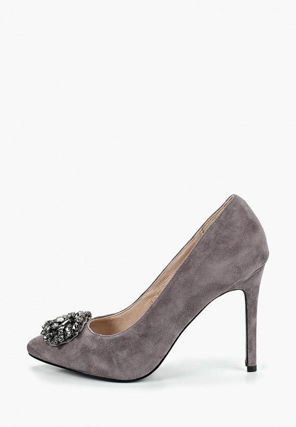 женские туфли pierre cardin, серые