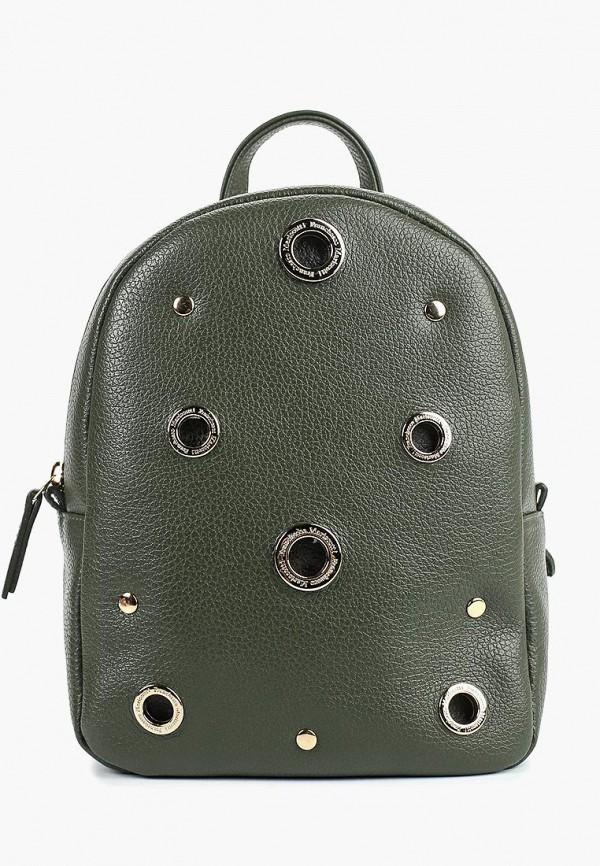 женский рюкзак franchesco mariscotti, хаки