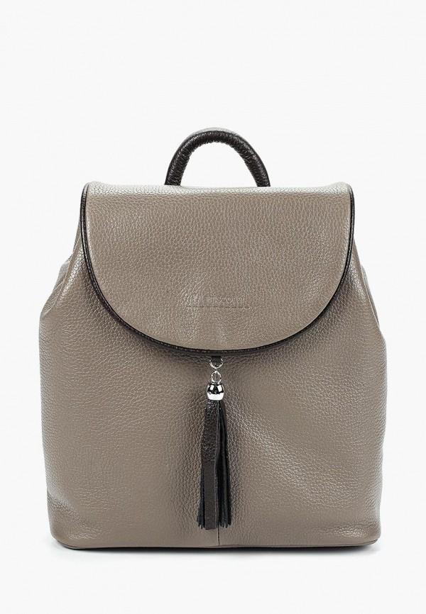 женский рюкзак franchesco mariscotti, серый