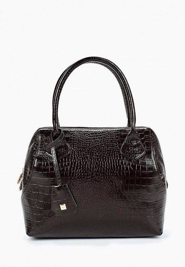 женская сумка franchesco mariscotti, коричневая