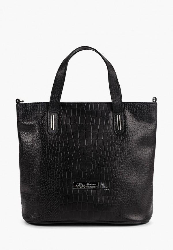 женская сумка franchesco mariscotti, черная