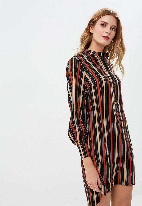 женское повседневные платье fashion.love.story, разноцветное