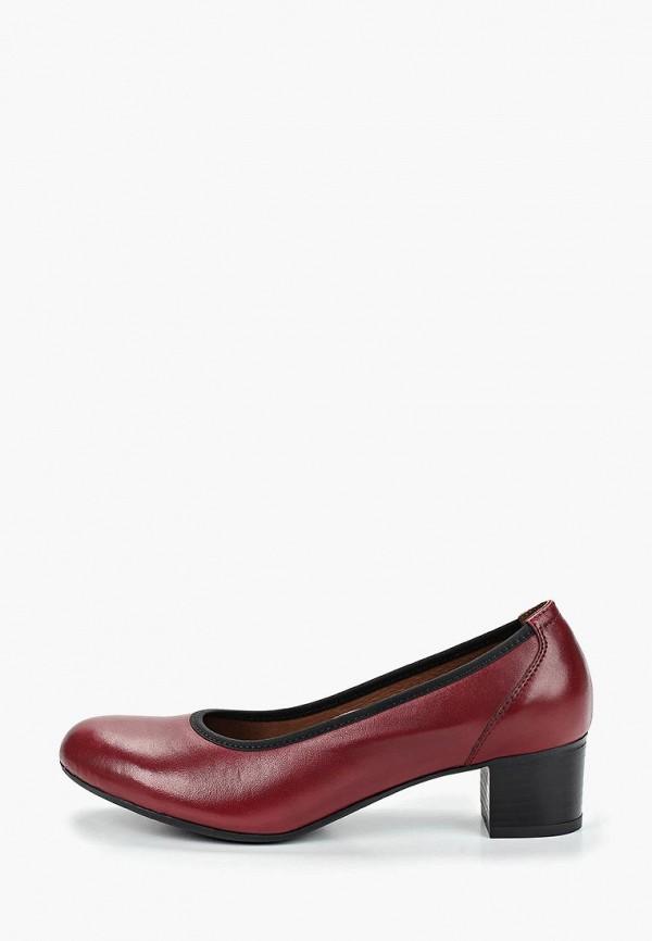 женские туфли shoiberg, бордовые