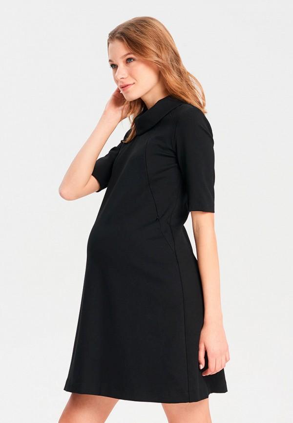 женское платье для беременных budumamoy, черное