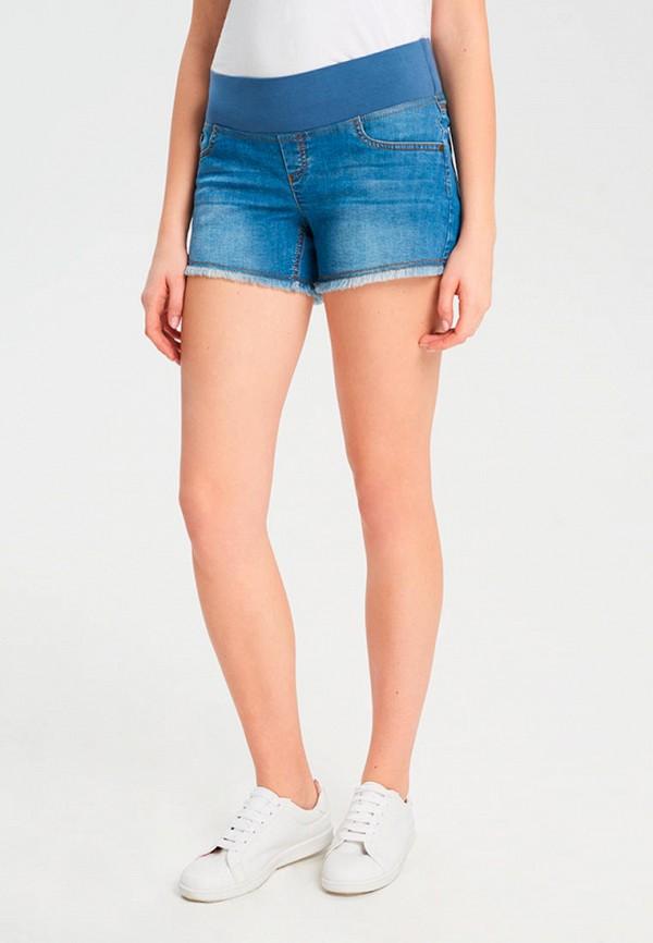 женские джинсовые шорты budumamoy, синие