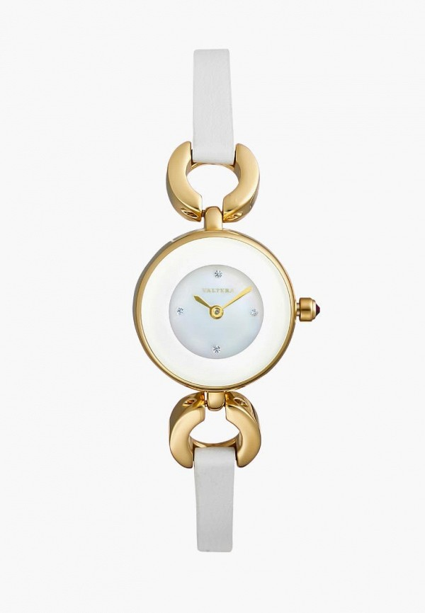женские часы valtera, белые