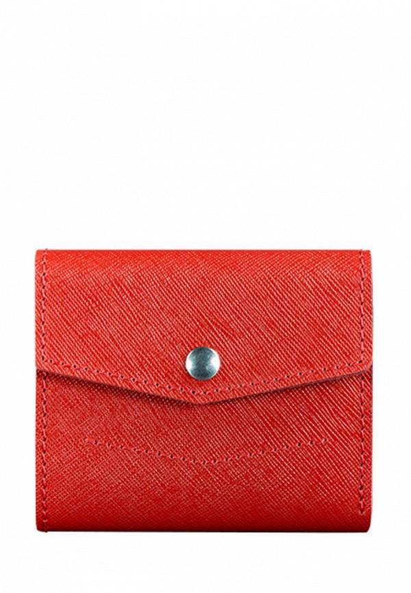 женский кошелёк blanknote, красный