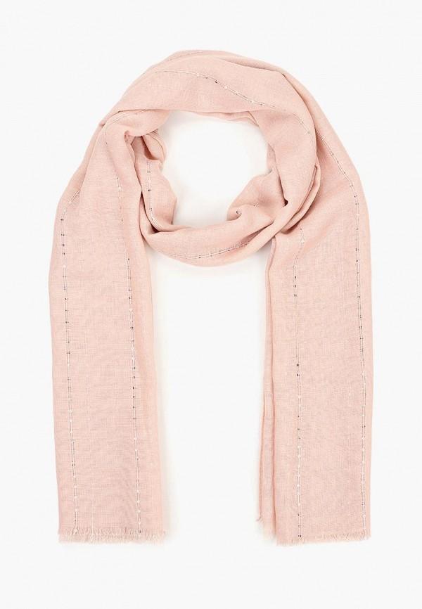женский шарф zarina, розовый
