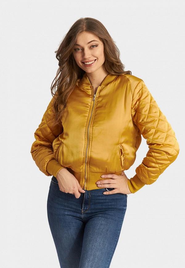 женская куртка moon river, желтая