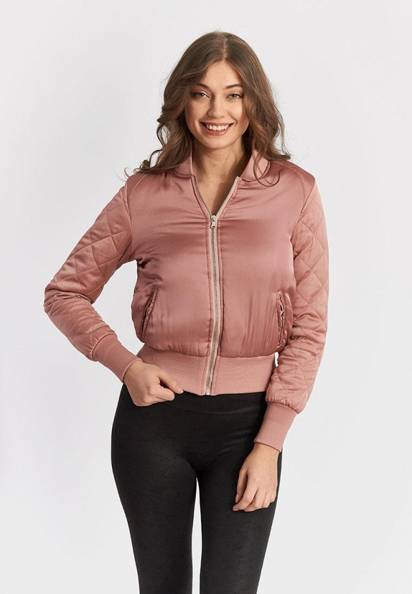 женская куртка moon river, розовая