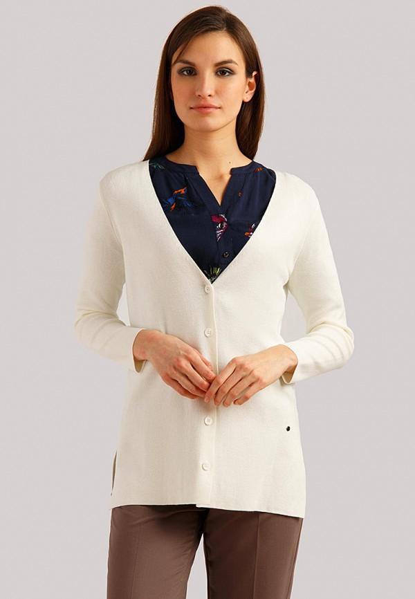 женский кардиган finn flare, белый