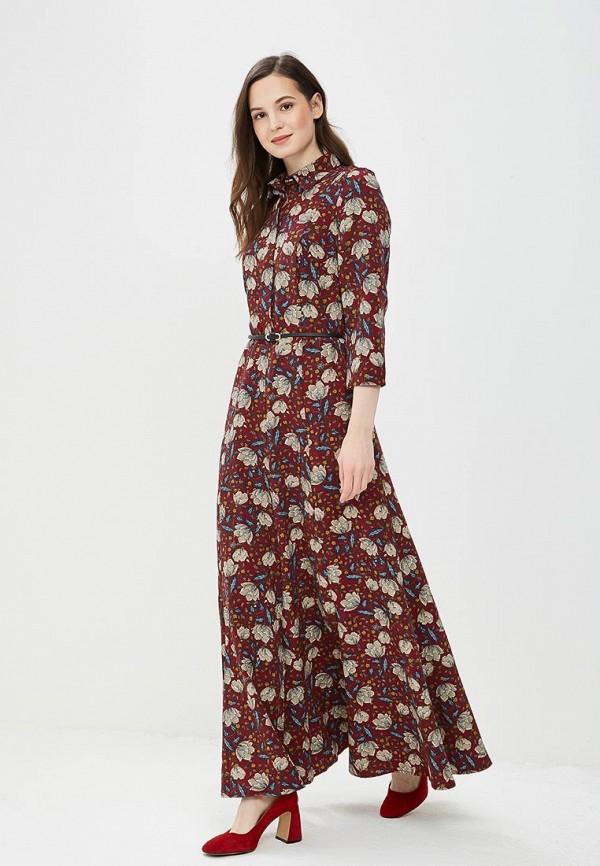 Фото - Женское платье Argent бордового цвета