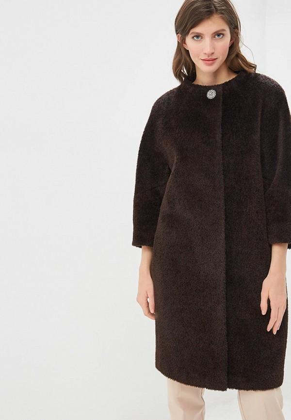 Пальто Lea Vinci Lea Vinci MP002XW1IENN black oversize hoodie mini dress