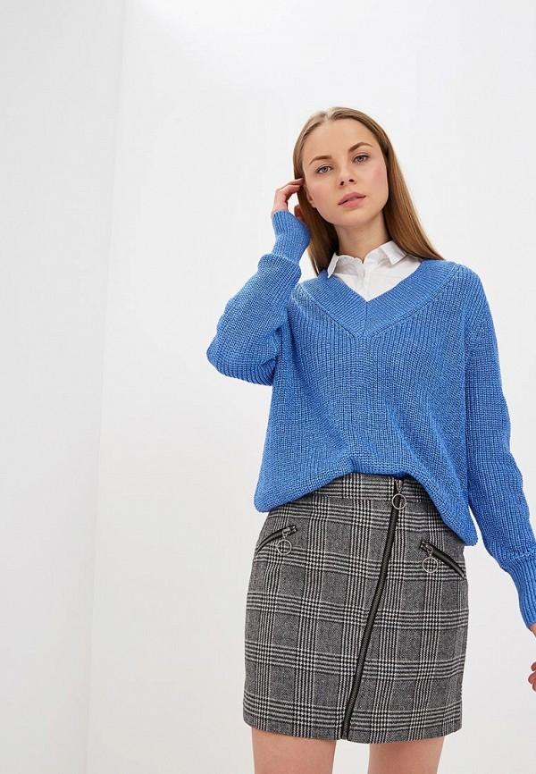 женский пуловер zarina, синий