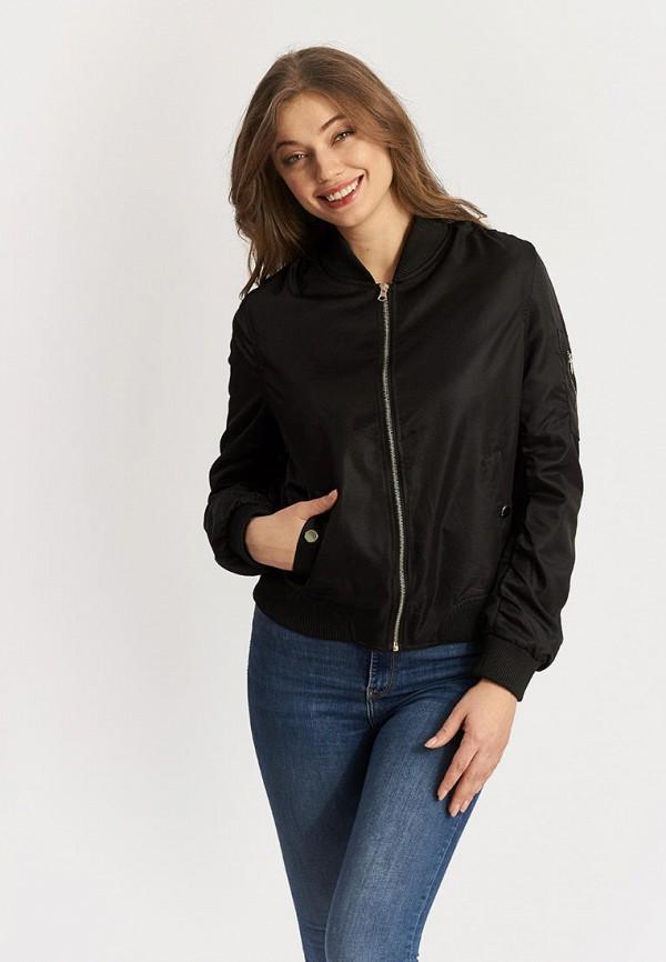 женская куртка moon river, черная