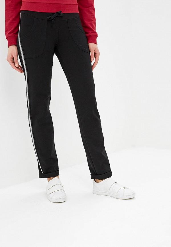 Фото - Женские спортивные брюки 9Месяцев 9Дней черного цвета