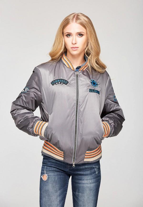 женская куртка mila nova, серая