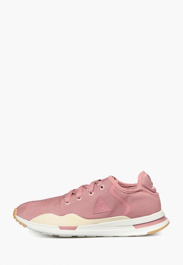 женские кроссовки le coq sportif, розовые