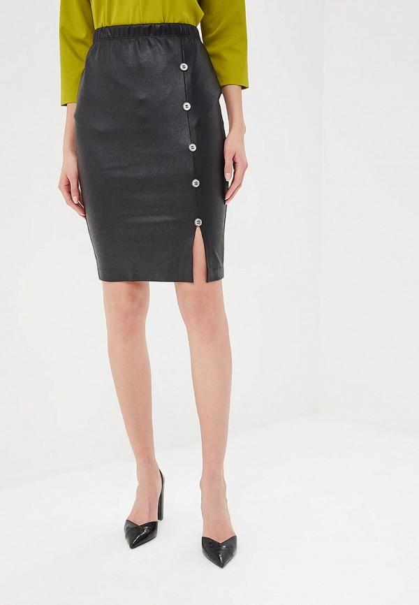 женская зауженные юбка eliseeva olesya, черная