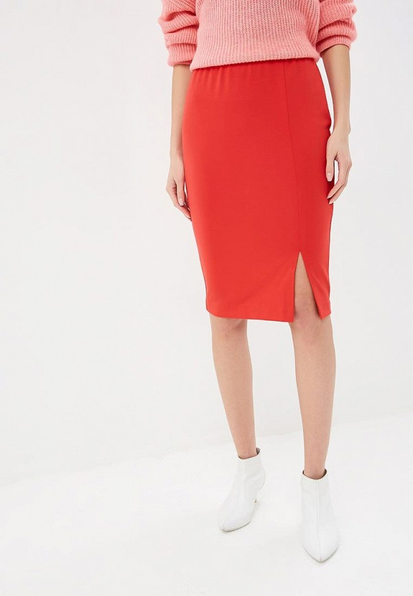 женская зауженные юбка eliseeva olesya, красная