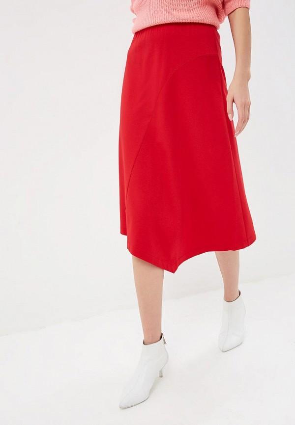 женская юбка eliseeva olesya, красная