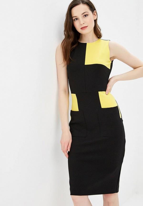 женское повседневные платье bezko, черное