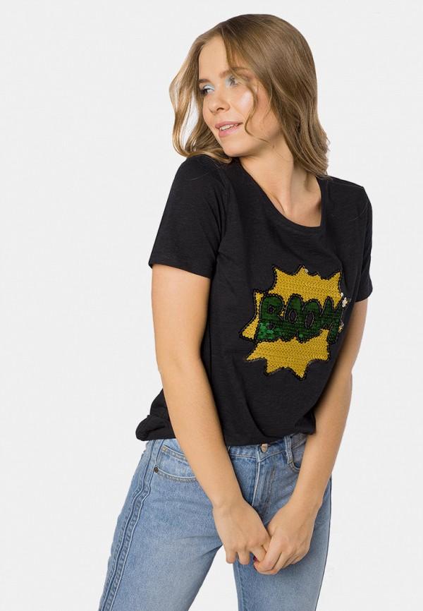 женская футболка mr520, черная