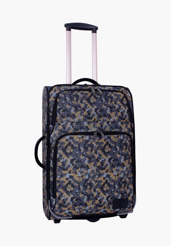 женский чемодан bagland, разноцветный