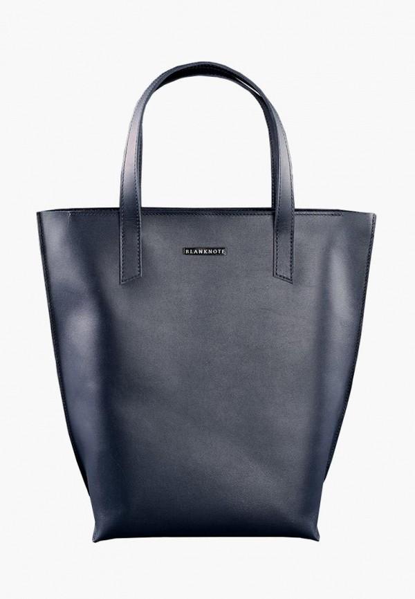 женская сумка blanknote, синяя
