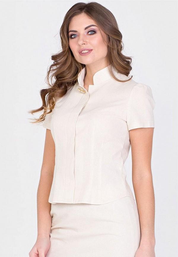 женская блузка filigrana, бежевая
