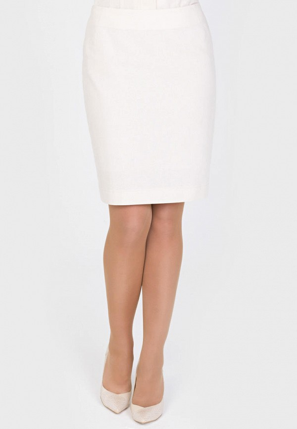 женская прямые юбка filigrana, бежевая