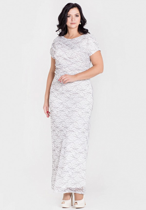 женское вечерние платье filigrana, белое