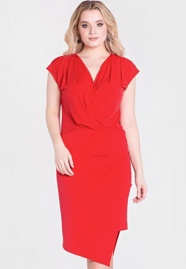 женское вечерние платье filigrana, красное