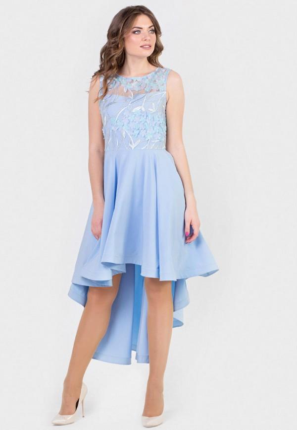 женское вечерние платье filigrana, голубое