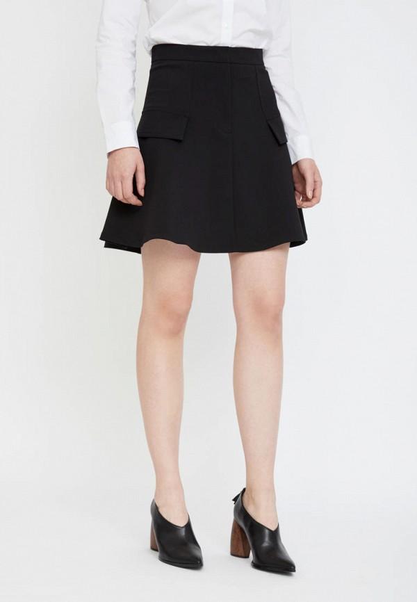 женская юбка lime, черная