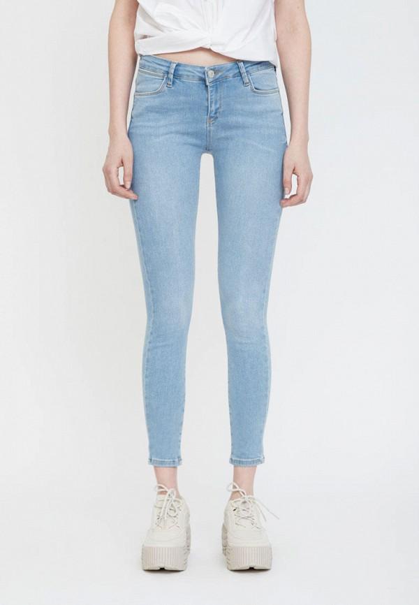 женские джинсы lime, голубые