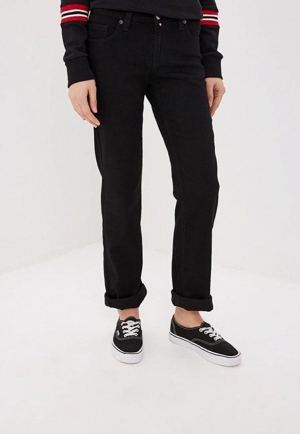 женские прямые джинсы f5, черные