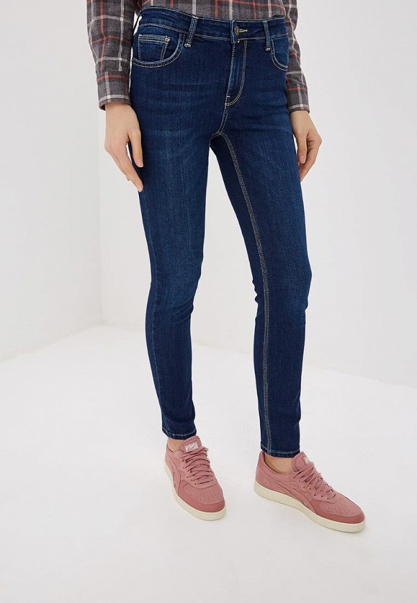 женские джинсы f5, синие