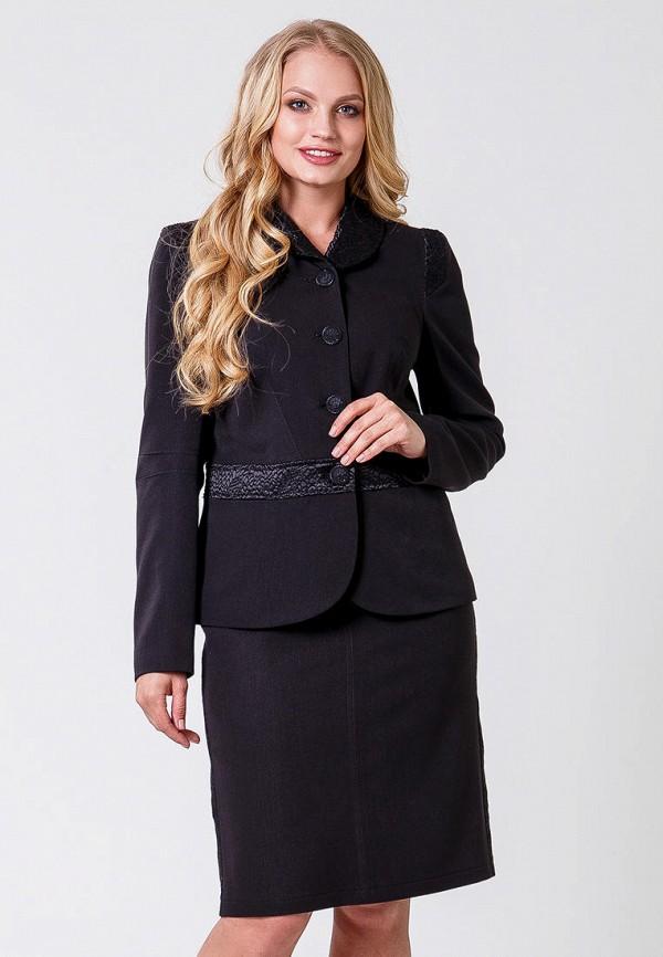 женский костюм sergio cotti, черный