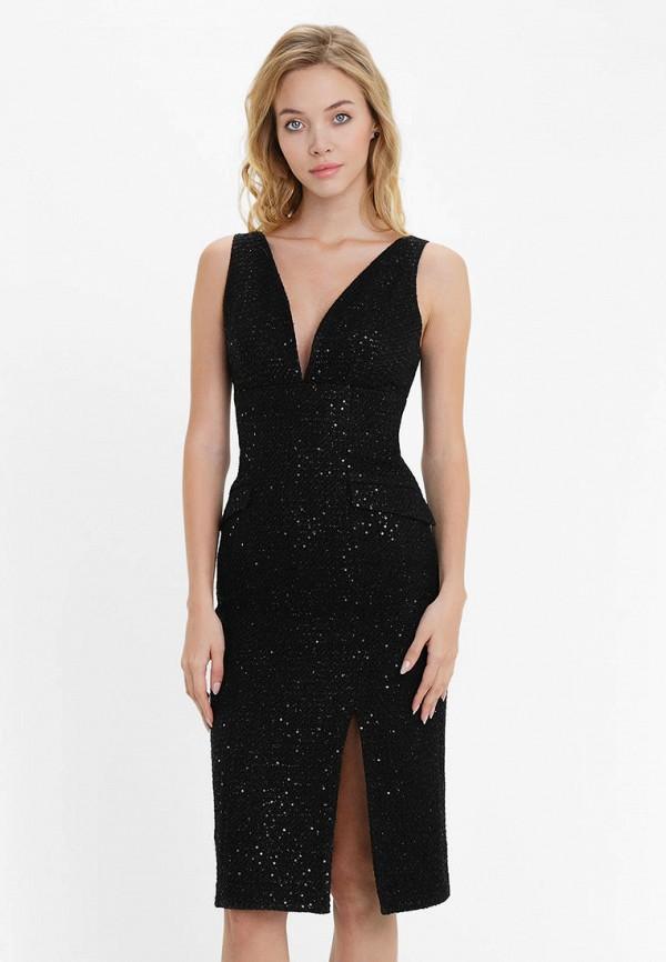 женское вечерние платье audrey right, черное