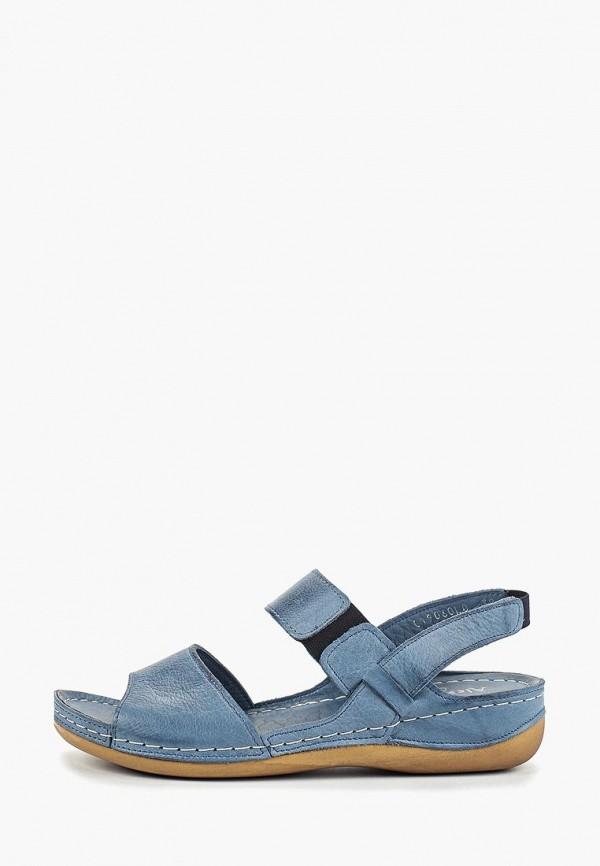 женские сандалии alessio nesca, голубые