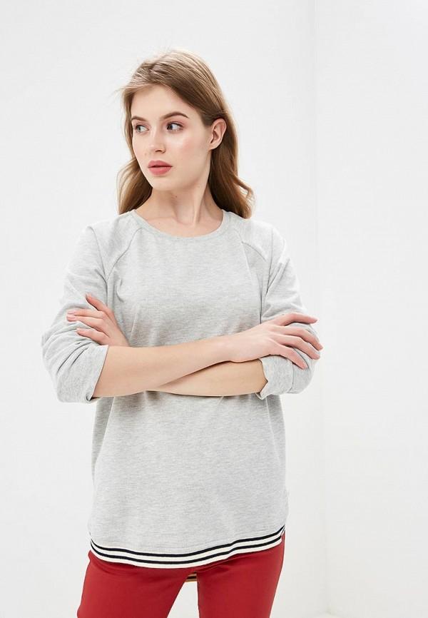 женский свитшот colin's, серый