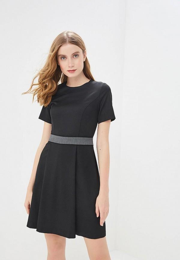 женское повседневные платье mondigo, черное
