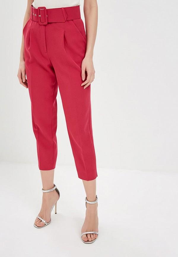 женские повседневные брюки mondigo, розовые