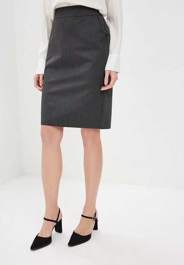 женская прямые юбка mondigo, серая