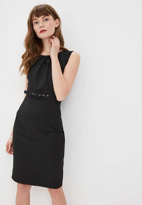 женское платье-футляр mondigo, черное